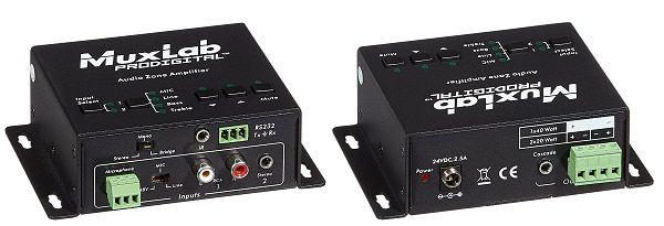 Audio zone Amplifier ( Ljudzons förstärkare )