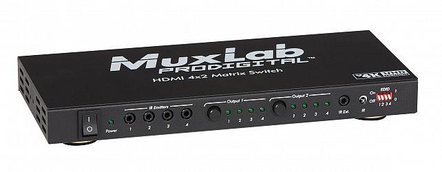 HDMI 4x2 Matrisväxel