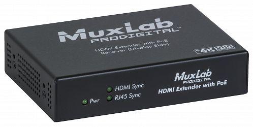 HDMI Extender, endast mottagare, UHD-4K, PoE