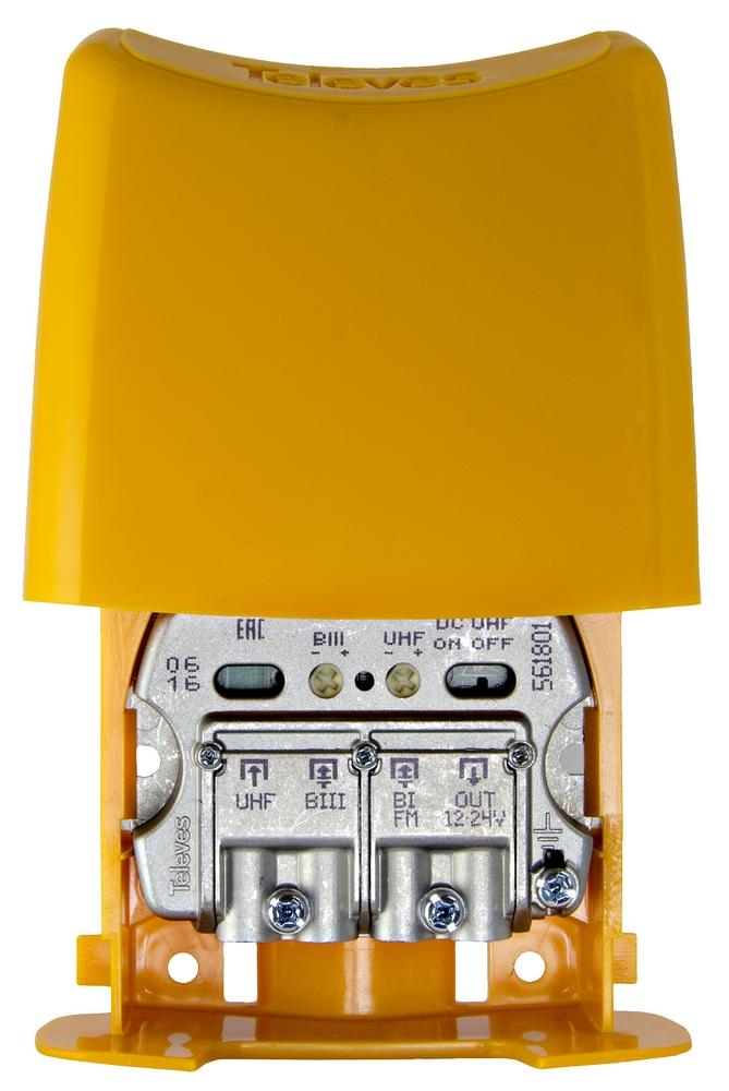 NanoKom 3 in UHF (DC-pass) / VHF / FM LTE