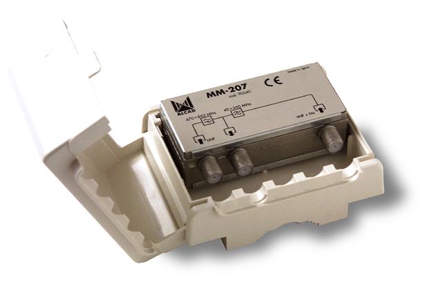 Sammankopplingsfilter VHF / UHF