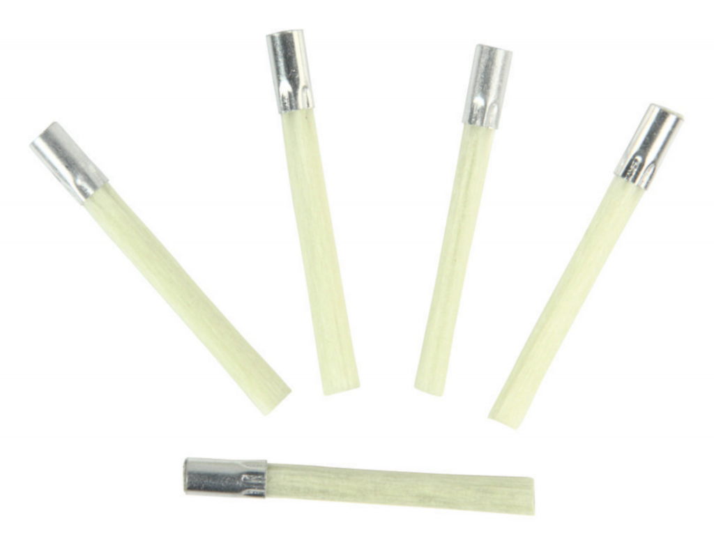 Refill till fiberpenna, rengöring av ärg, korrosion