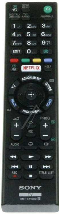 Fjärrkontroll RMT-TX100D