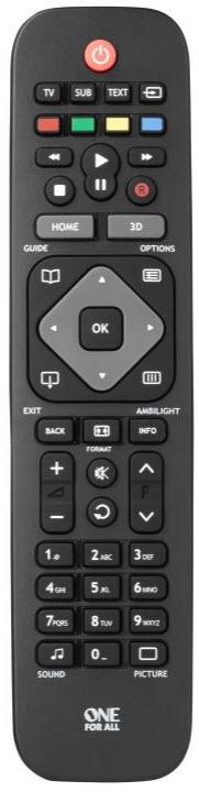 Universal fjärrkontroll URC1913 för TV & DVD