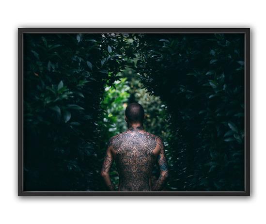 Tattoo, 50x70 cm