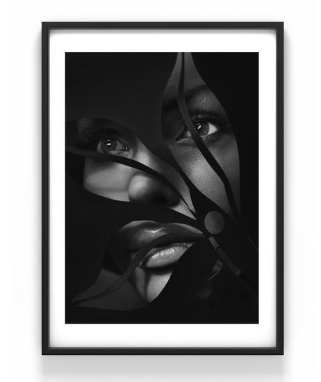 Woman, 50x70 cm