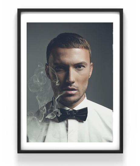 Smoke, 50x70 cm