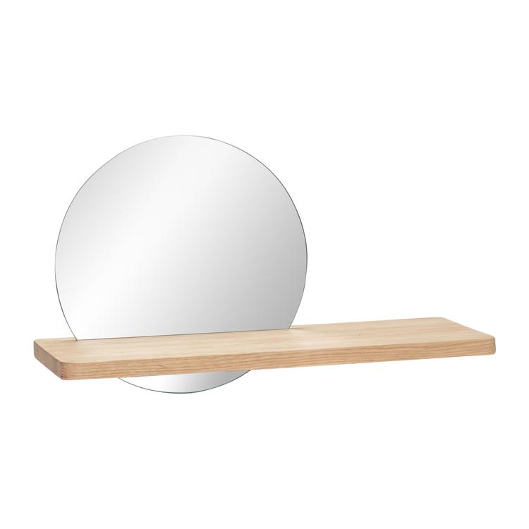 Hylla med spegel