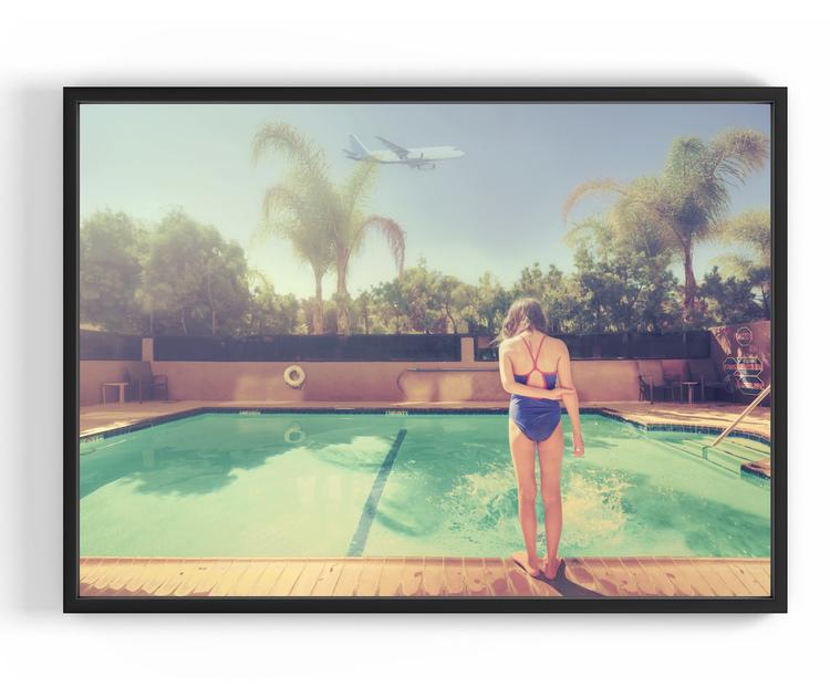 Splash, 50x70 cm