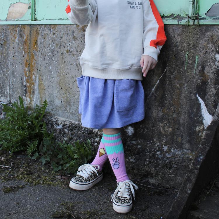PEACE OUT baby sock - Lillster x Kidslikekim