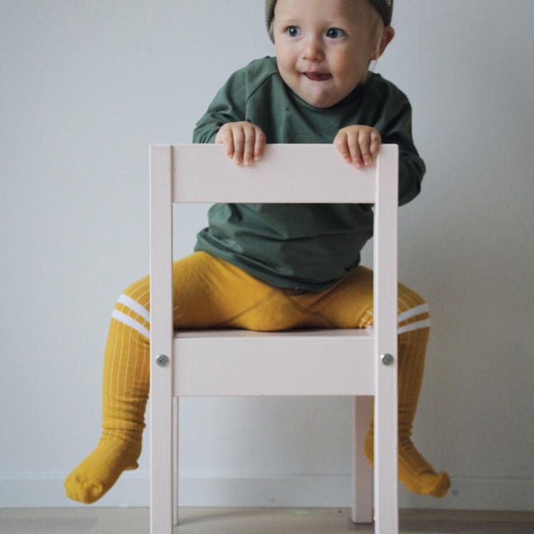 Lion baby tights - Lillster Originals Safari