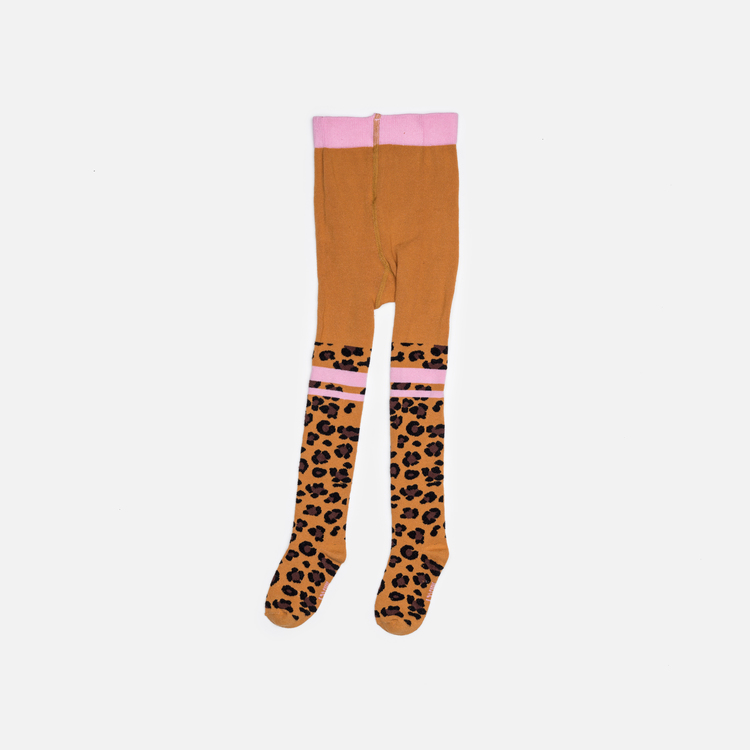Raffa the leopard baby tights - Leo friends