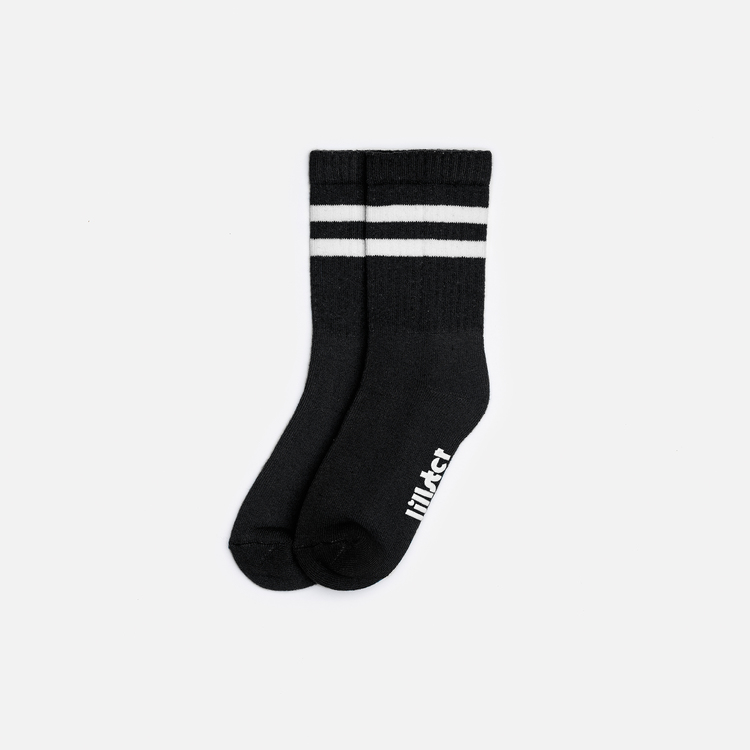 BLACK TUBE SOCK - Lillster Originals 2.0
