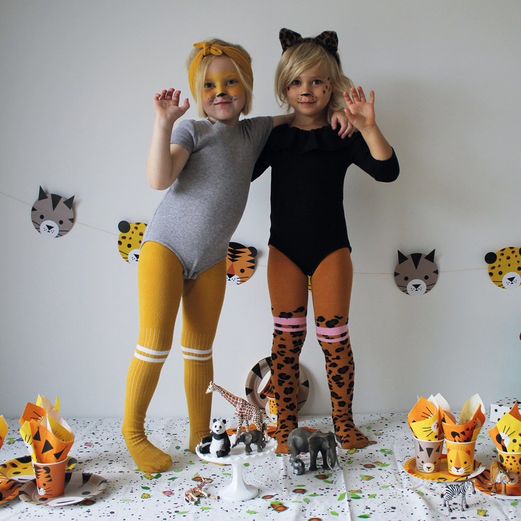 Tights friends 2-pack - Lion + Raffa Love