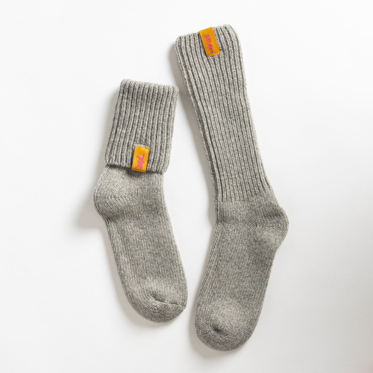 Granite raggis wool sock - big Lillster