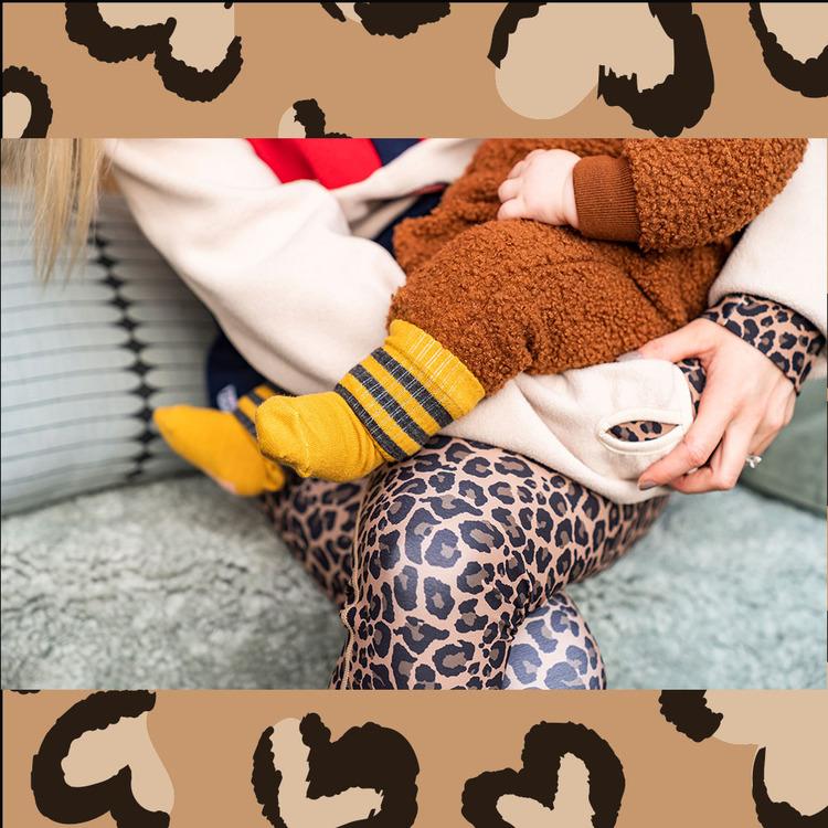 Mustard Maggie wool sock - baby Lillster