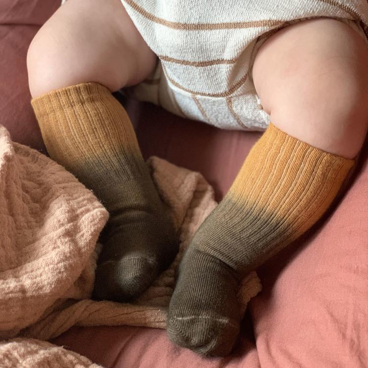 Brownie - baby dip dye