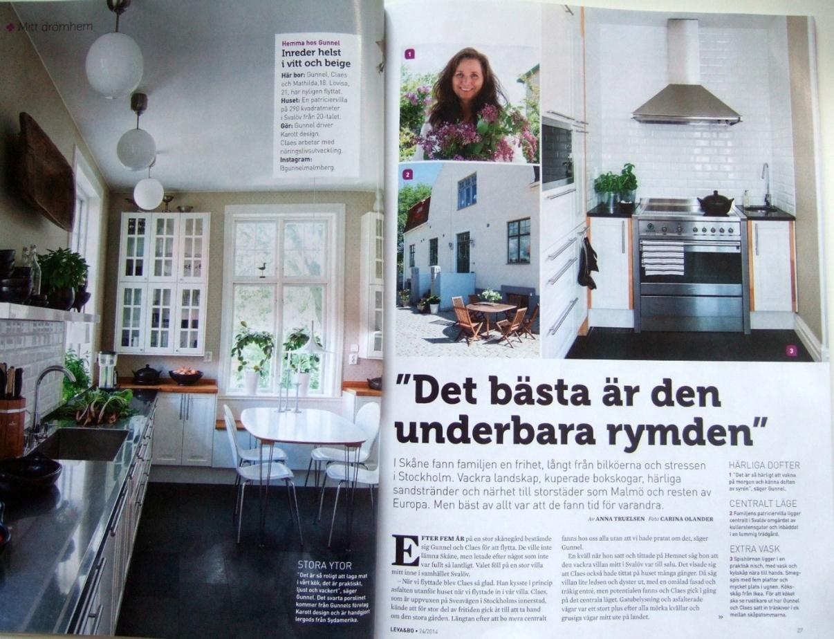 lergods från karott i Expressens Leva & Bo