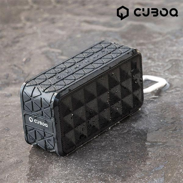 Högtalaren Bluetooth Waterproof CuboQ Metal