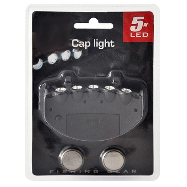 Keps med LED ljus