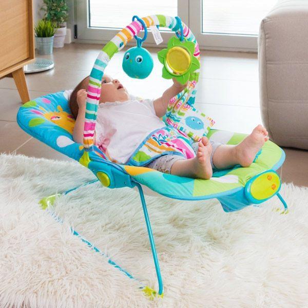 Modern babyhammock med ljud
