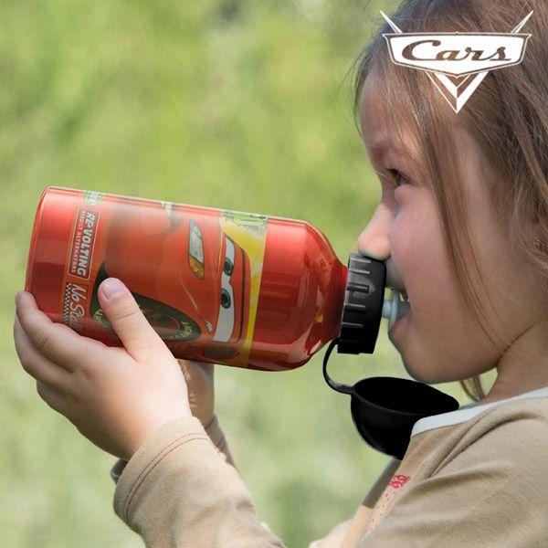 Aluminiumflaskan för barn Bilar
