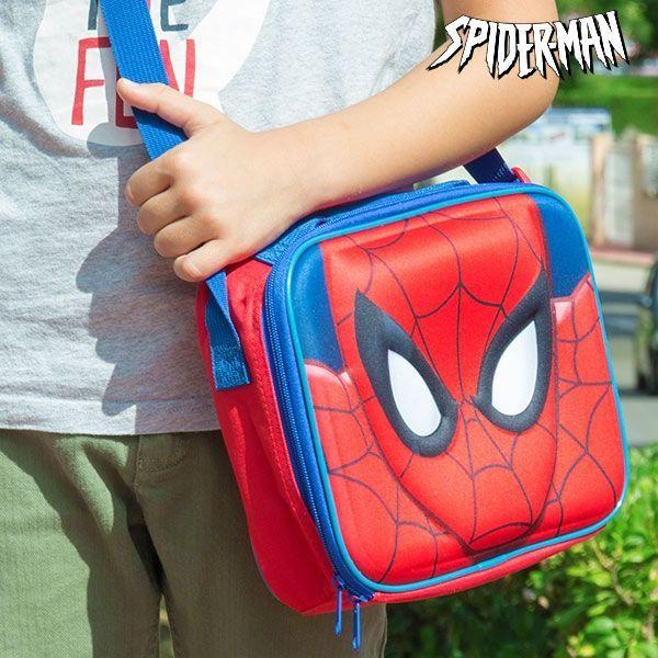 Lunchbox och axelväska Spiderman termo!
