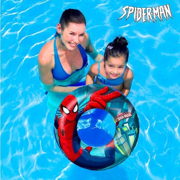 Uppblåsbara Spindelmannen-badringen