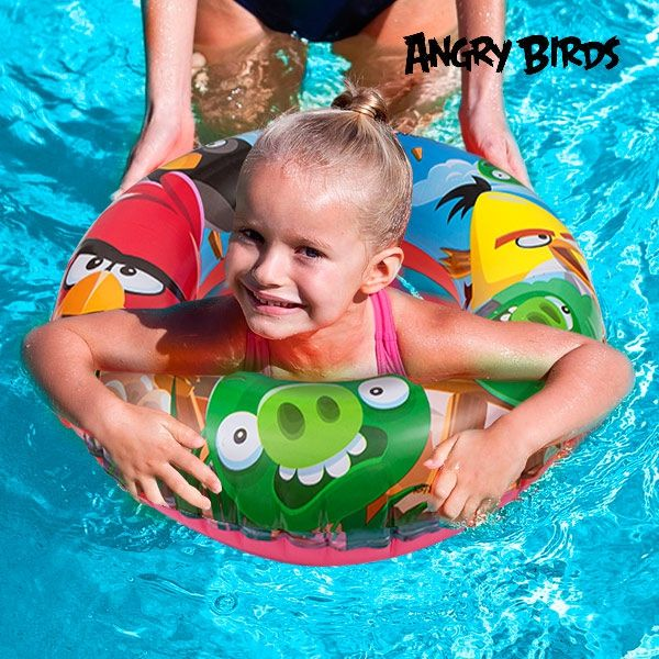 Uppblåsbara gummiringen Angry Birds