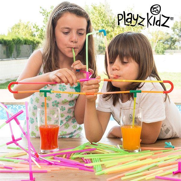 Sugrörsspelet Playz Kidz (194 delar)