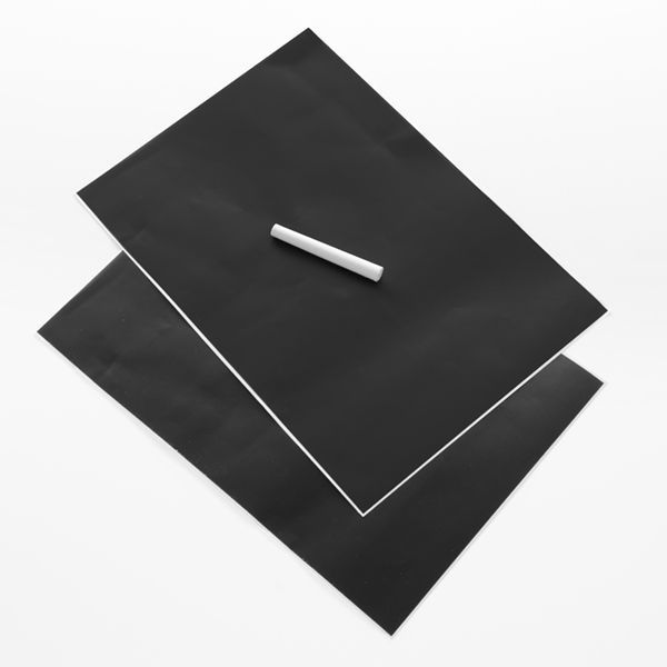 Självhäftande svarta tavlan (2 st)!