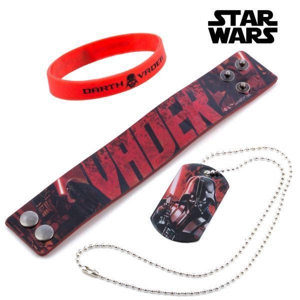 Armbanden och halsbandet Star Wars