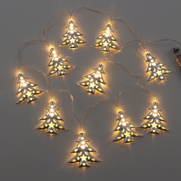 Girlangen LED Julgran Christmas Planet (10 LED)