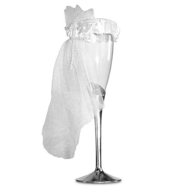 Bröllop Champagneglasen