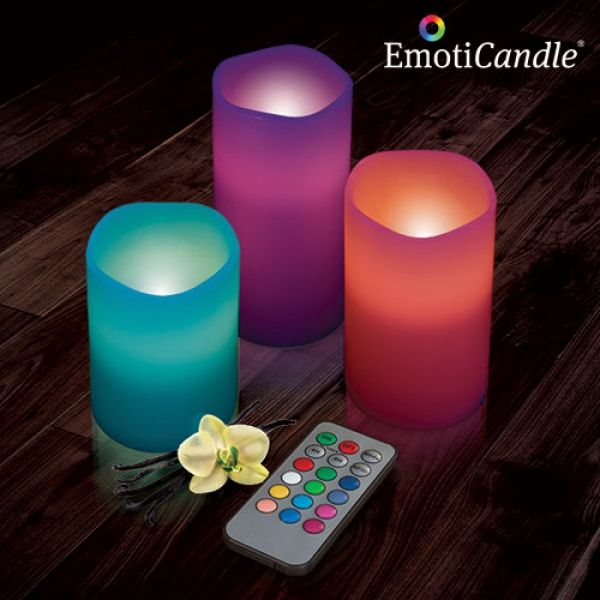 LED-ljus EmotiCandle