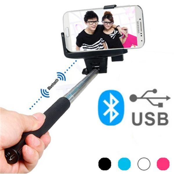 Selfiepinne med Bluetooth