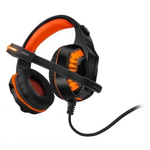 spelhorlurar-med-mikrofon-krom-nxkromknr-konor-ultimate-orange-svart
