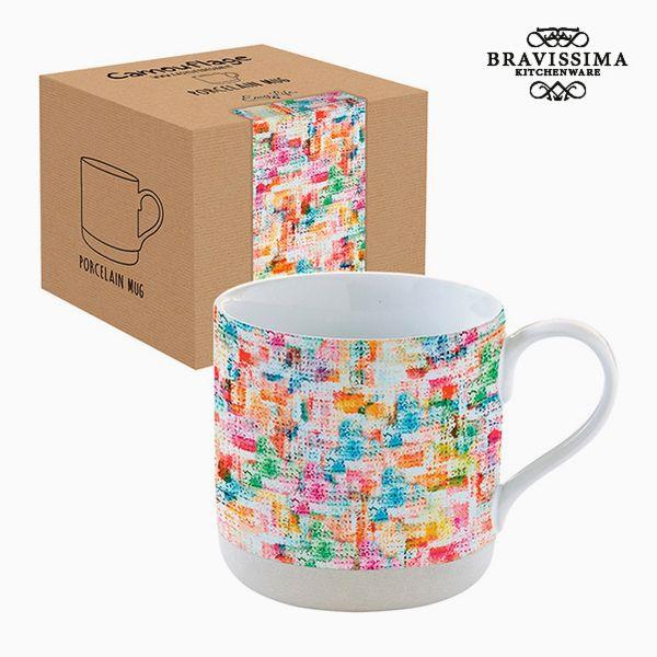 Kopp i låda Porslin Multicolour