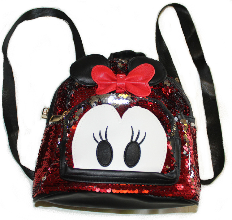 minnie-mouse-barn-ryggsack-glitter