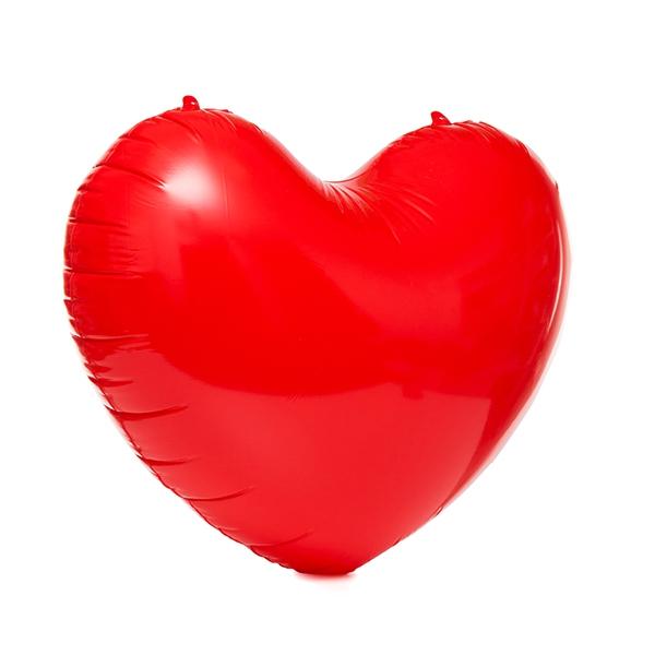 Uppblåsbara hjärtat