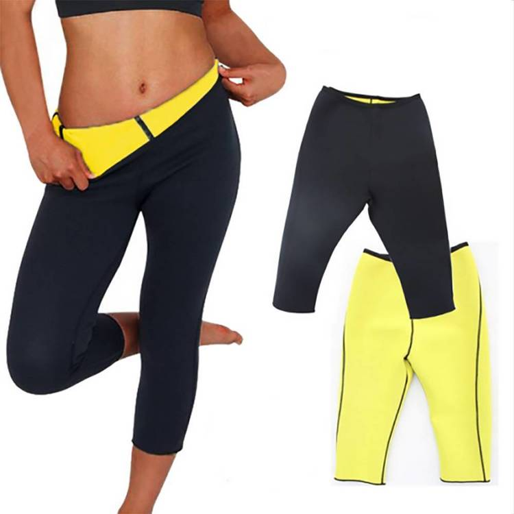 Slimming Thermo Capris Byxor Sauna Hot Body Shaper L