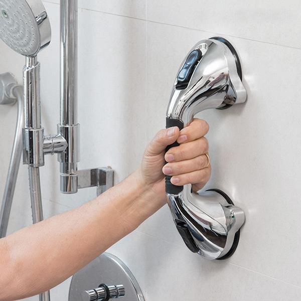 Säkerhetshandtag till badrum