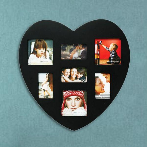 hjärtformade Fotoframe 7X