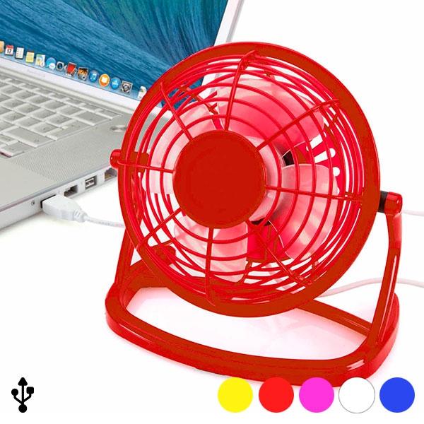 Mini fläkt med dator USB Röd