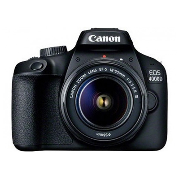 Spegelreflexkamera Canon EOS 4000D WIFI Svart