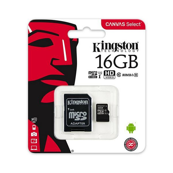 Micro-SD kort Kingston 16 GB