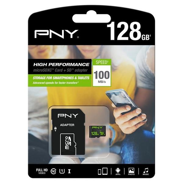 Micro-SD Minneskort med Adapter