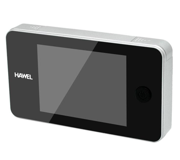 Elektroniskt dörröga med HD videokamera