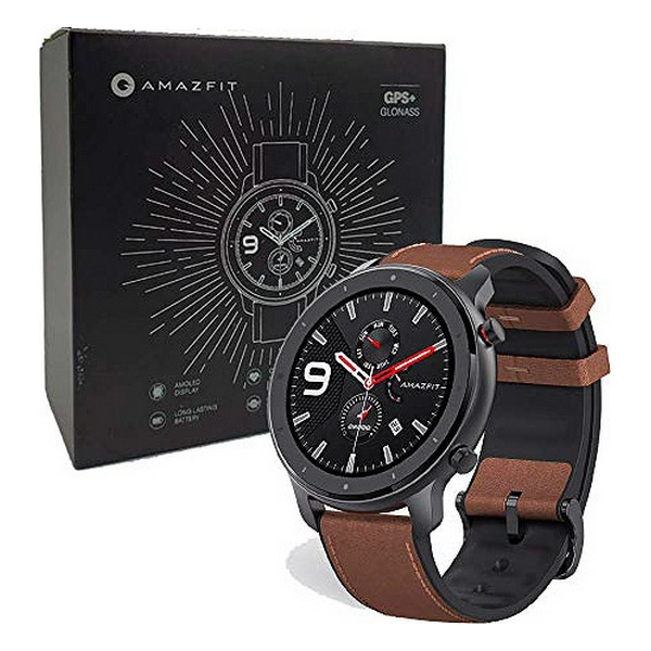 "Smartklocka Amazfit GTR 1,39"" AMOLED GPS 410 mAh"
