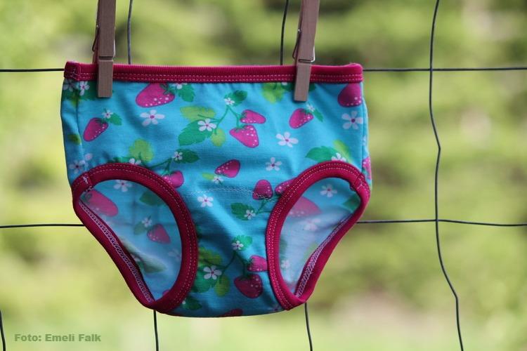 Unisex underkläder, jordgubb